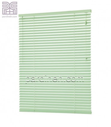 کرکره فلزی 25 میلیمتری رنگ سبز