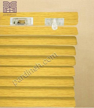 کرکره فلزی 25 میلیمتری طرح چوب کد P-356