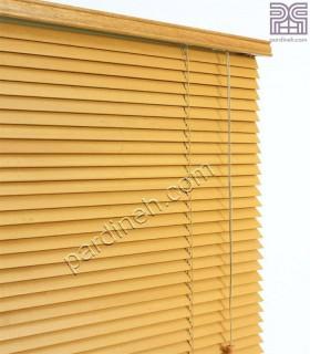پرده کرکره چوبی 25 میلمتری کد K-880
