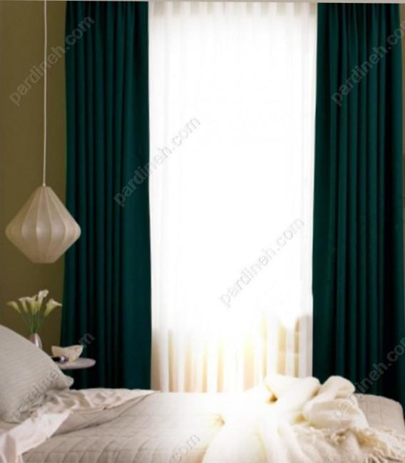 پرده هتلی مدل شب و روز کد H2-507