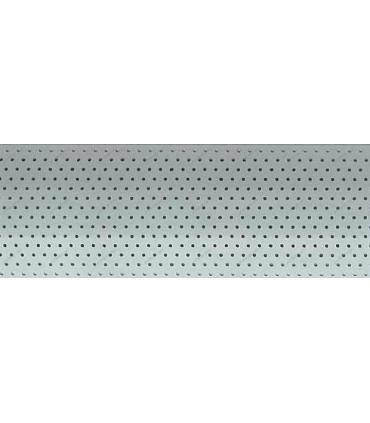 پرده کرکره پرفراژ 25 میلیمتری رنگ نقره ای کد Z1-133