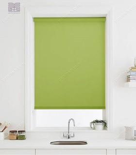 پرده شید پارچه ای رنگ سبز کد NT630