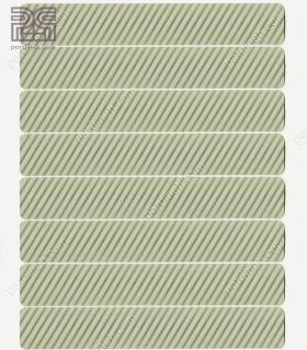 پرده کرکره فلزی آلومینیومی 25 میلیمتری راه راه رنگ نقره ای کد Z1-139
