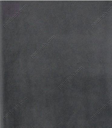 پرده مخمل پانچی رنگ طوسی تیره P-616