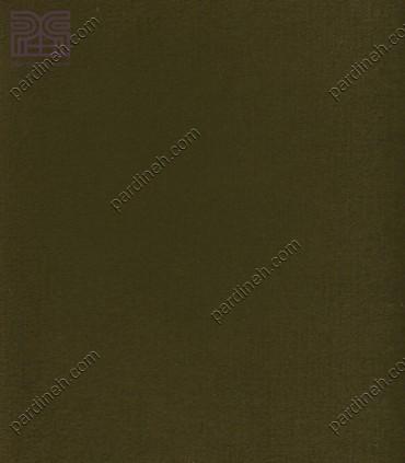 پرده مخمل پانچی رنگ سبز زیتونی تیره کد P-618